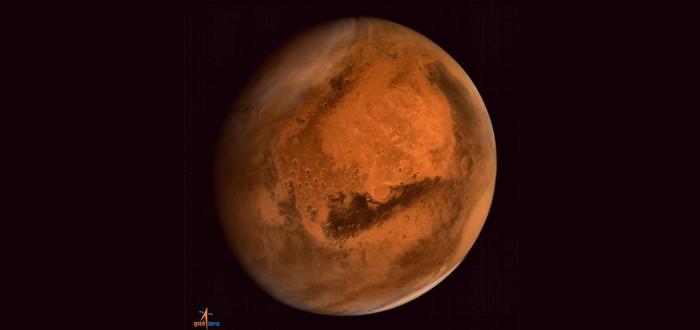 Первая фотография Марса с Индийского спутника