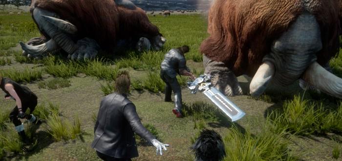 Final Fantasy XV – не казуальная игра, бой будет сложней