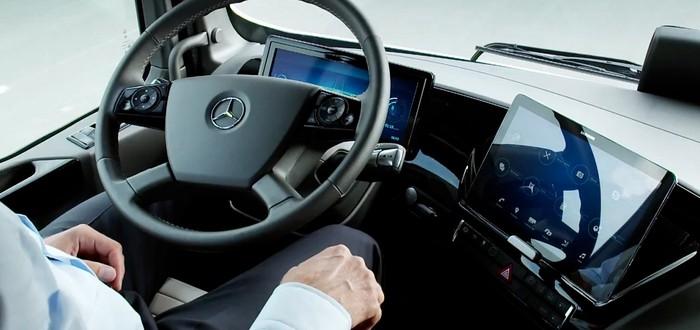 Mercedes выпускает умные грузовики, которые спасут тысячи жизней