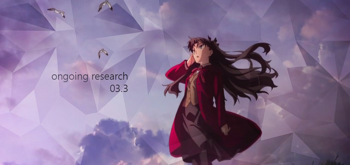 ongoing research 03.3