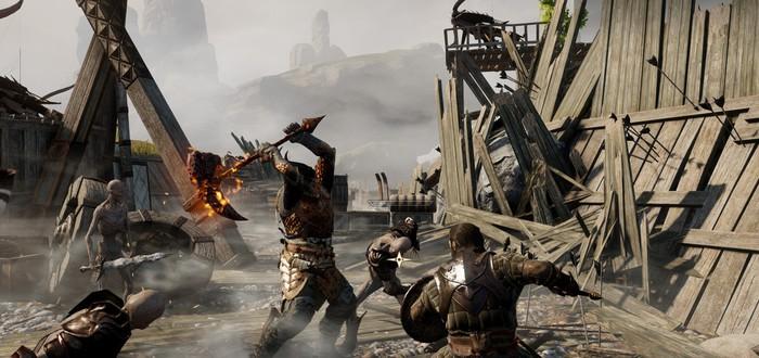 Геймплей Dragon Age: Inquisition на PC с клавиатурой и мышью