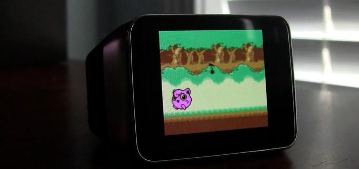 Эмулятор Game Boy на умных часах Android