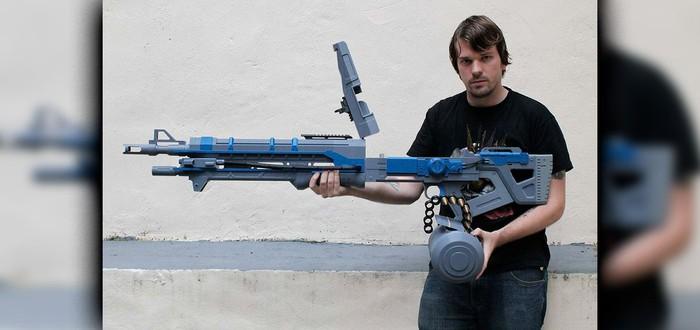 Еще одна пушка Destiny напечатана на 3D-принтере