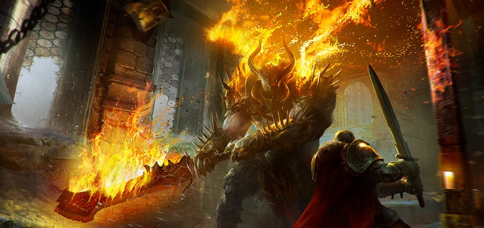 Демонстрация технологий Nvidia в Lords of the Fallen