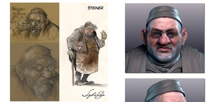 Детали первых двух персонажей Syberia 3
