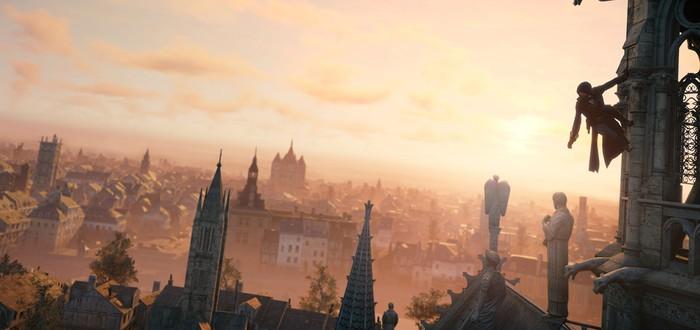 10 минут геймплея Assassin's Creed Unity на PS4