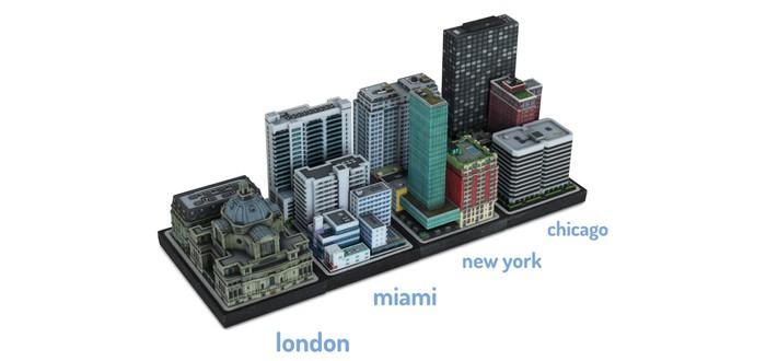 Кусочек SimCity на 3D-принтере