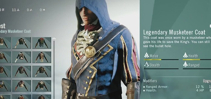 Кастомизация Assassin's Creed Unity