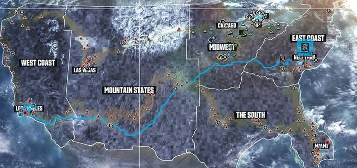 Трассы The Crew в сравнении с реальными расстояниями