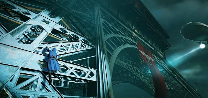 Демонстрация временной аномалии в Assassin's Creed: Unity