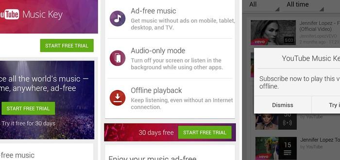 YouTube запускает платный музыкальный сервис