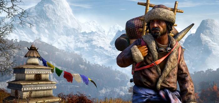 Первые 30 минут Far Cry 4 на PS4