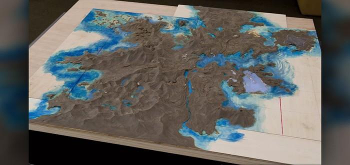 Карта мира Final Fantasy 15