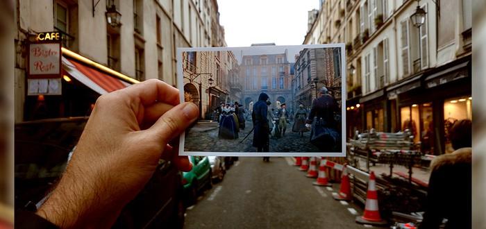 Париж: сегодня и в Assassin's Creed Unity
