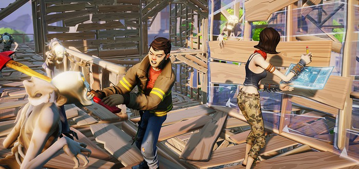 Стартовала закрытая альфа Fortnite – новой игры Epic Games