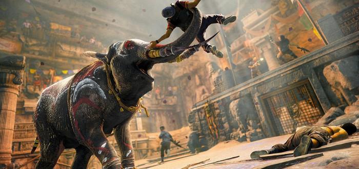 Полет слонов в Far Cry 4