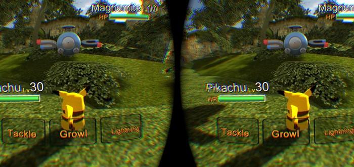 Покемоны в Oculus Rift