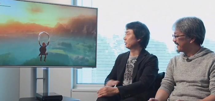 Геймплей новой части Legend of Zelda