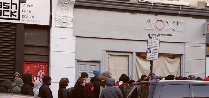 Ретро-магазин в Лондоне от Sony
