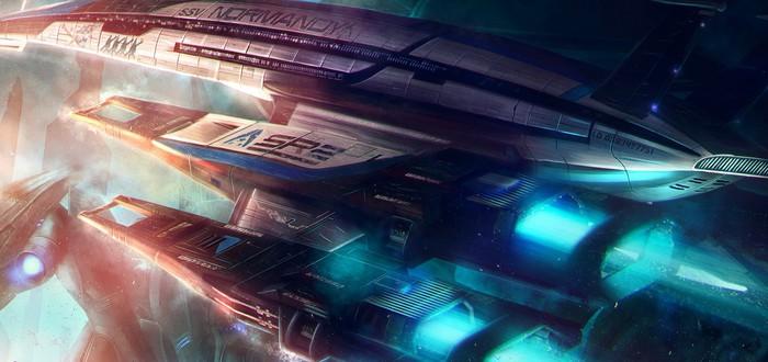 Mass Effect - Falling Into a Dream (Tribute music video)