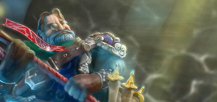 Игрок DOTA 2 создал Торговца в виде Гейба Ньюэлла