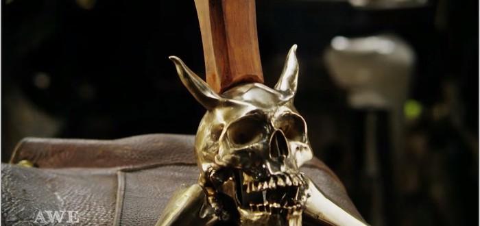 Меч Rebellion из Devil May Cry - еще одно творение ребят из Man at Arms