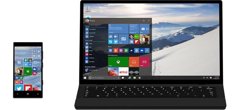 В Windows 10 не будет подписки