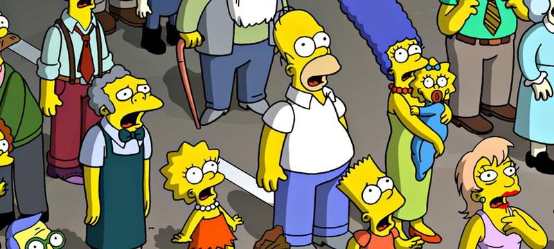 Short: 12 человек и сотня персонажей Симпсонов