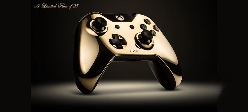 Золотые контроллеры PS4 и Xbox One уже распроданы