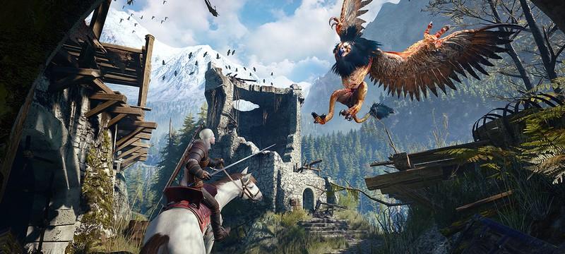 15 минут живого геймплея The Witcher 3