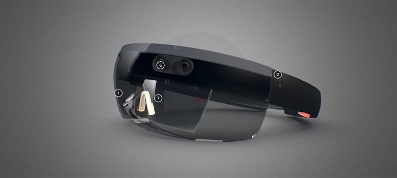 Интерактивная 3D-модель HoloLens от Microsoft