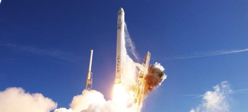 Промо ролик ракеты SpaceX