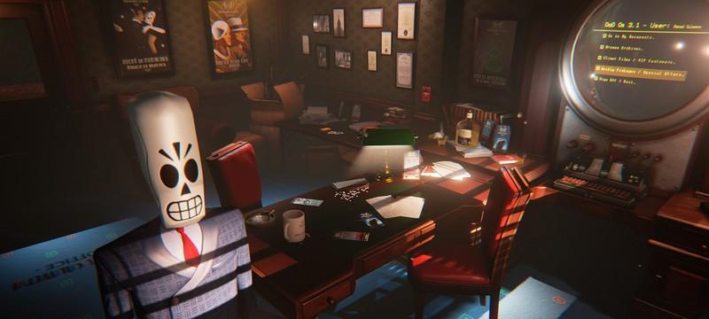 Grim Fandango на движке Unreal Engine 4