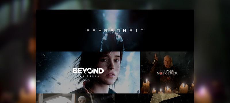 Новый сайт Quantic Dream и видео о создании демо The Dark Sorcerer