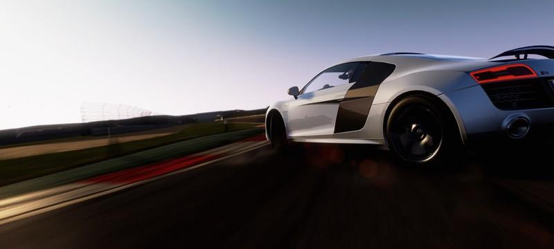 10 минут Project CARS на PS4 в 1080/60