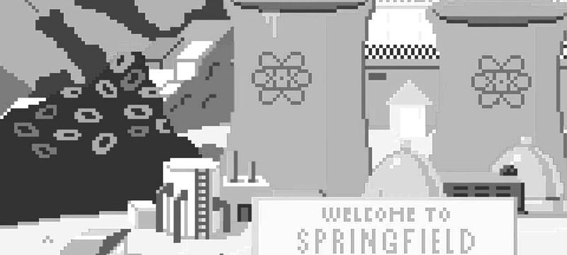 Short: Пиксельная заставка Симпсонов