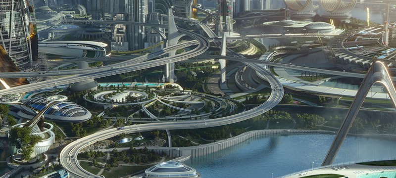 Город будущего в Tomorrowland