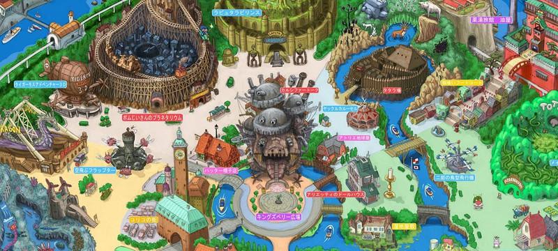 Short: каким мог бы быть парк развлечений Ghibli