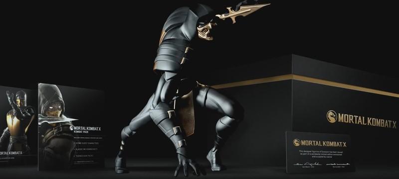 Анонсировано коллекционное издание Mortal Kombat X