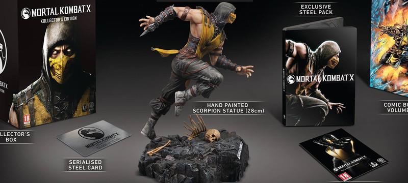 Детали коллекционного издания Mortal Kombat X от NetherRealm