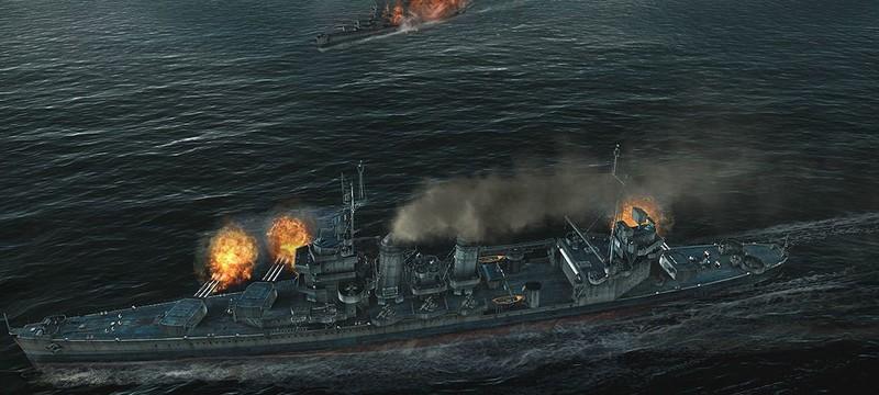 Геймплейный трейлер World of Warships