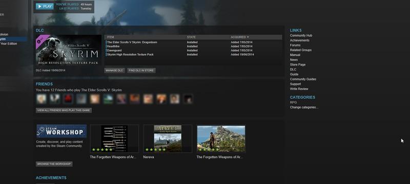 В Steam Beta появилась функция отслеживания DLC для игр