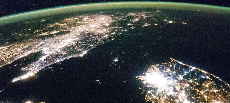 Как Северная Корея оправдывает отсутсвие света ночью