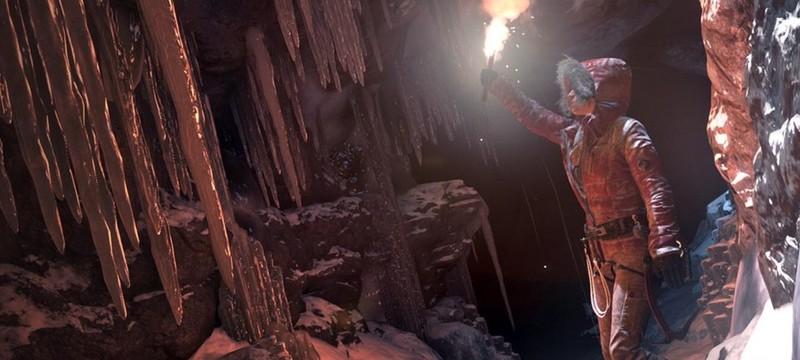 Crystal Dynamics гордятся физикой снега в Rise of the Tomb Raider