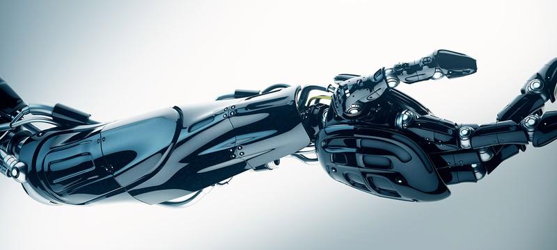 Эта роботизированная рука достаточно ловкая для медитационных шариков