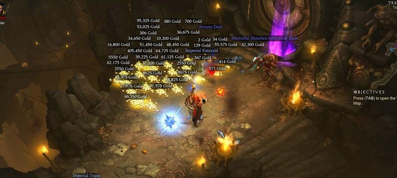 Blizzard тестирует микротранзакции в Diablo 3, пока для Азии