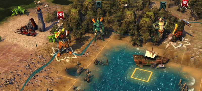 4X игра Worlds of Magic выйдет на PS4