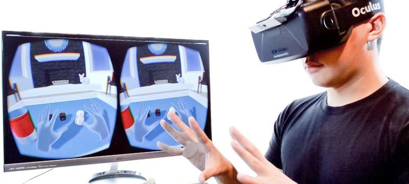 Контроллер для Oculus Rift пока не готов
