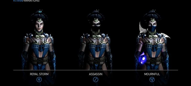 Трейлер Mortal Kombat X представляет три версии Китаны