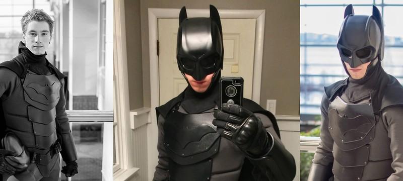 Реальный костюм Бэтмена защищает от ножей и ударов